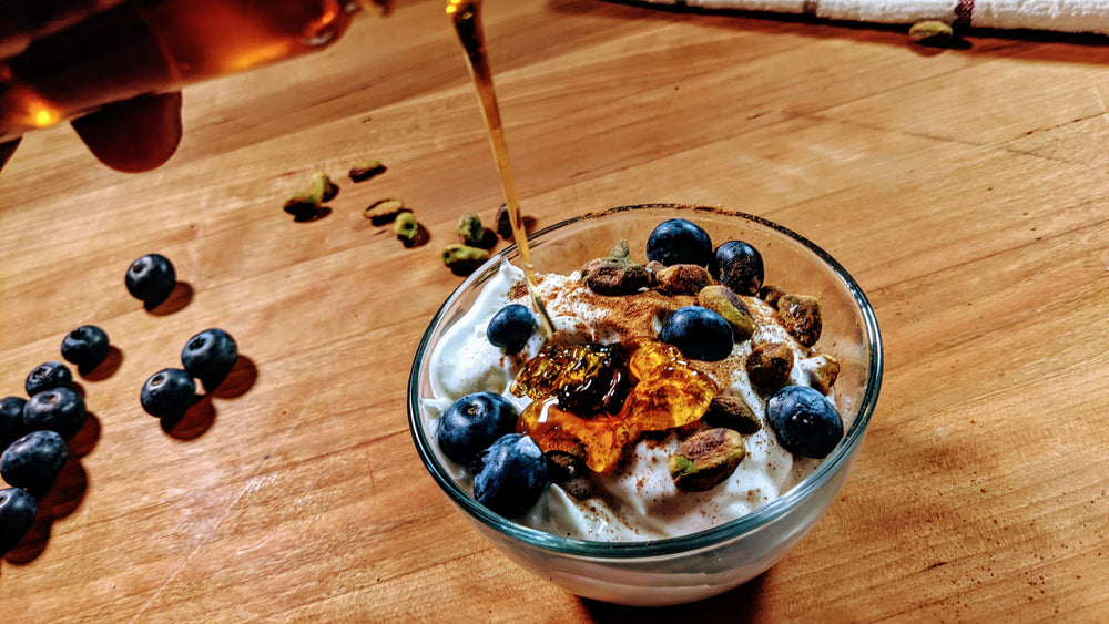 Bourbon Barrel Greek Yogurt