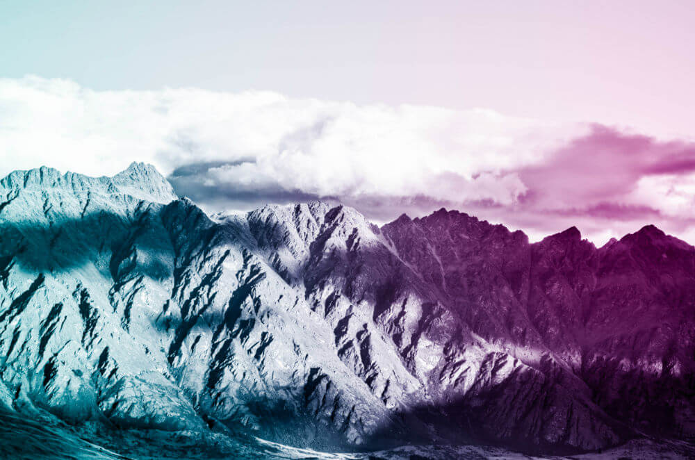 Limited Edition Print: The Remarkables no. 2