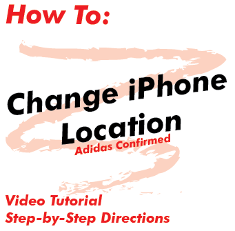 How To Change Location (Adidas Confirmed)