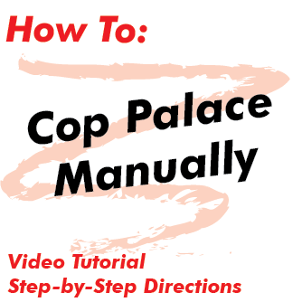 How to Cop Palace Manually