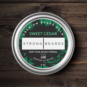 Strong|Beards Sweet Cedar Beard Balm