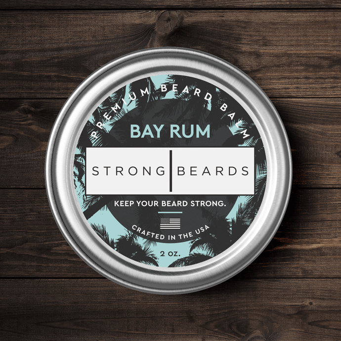 Strong|Beards Bay Rum Beard Balm