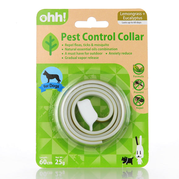 Anti-Pest Dog Collar - Repels Fleas with Natural Oils-Collar-Lucky Paws