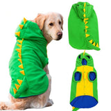 Dog Pajamas Onesie in Dino Design - Comfortable Clothing-Clothing-Lucky Paws