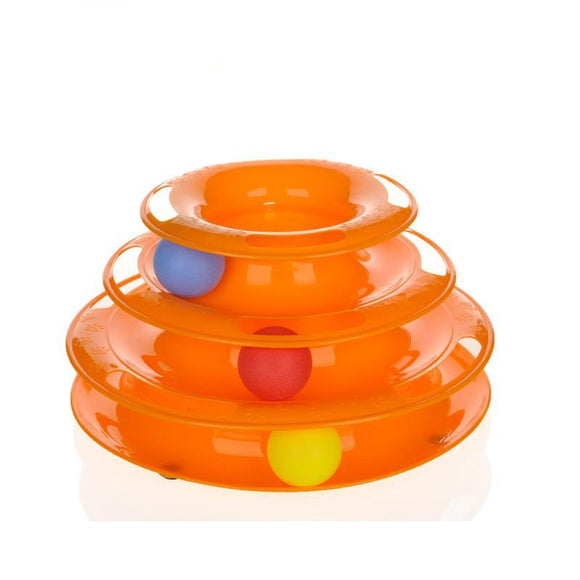 Cat Ball Puzzle - Multi Level Pet Play Toy-Lucky Paws