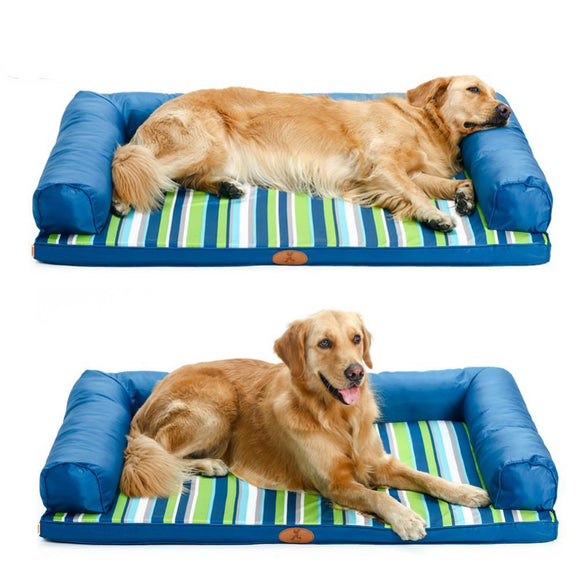 Couch Style Dog Bed - Orthopedic Cusion & Headrests-bed-Lucky Paws
