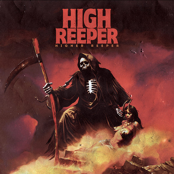 High Reeper - Higher Reeper Ultra Limited (RED W/ BLUE/BLACK MARBLE) (LP)