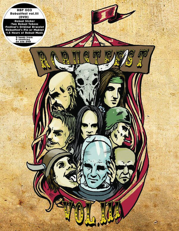 Various Artists - Robustfest Vol. III (DVD)