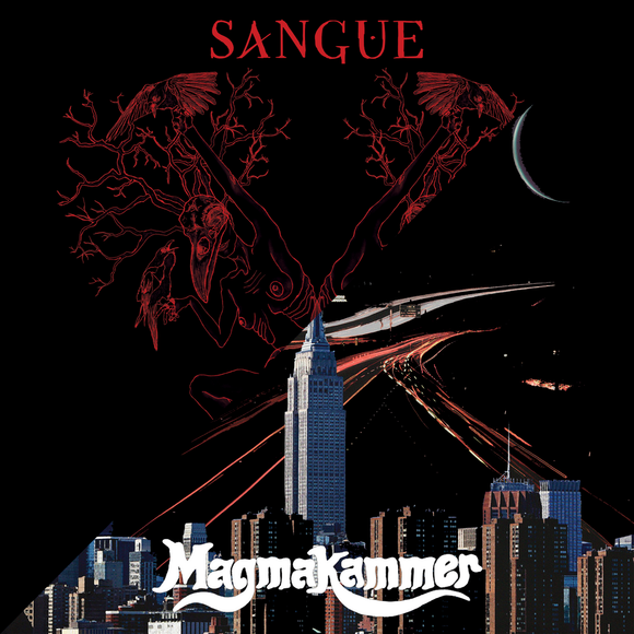 Magmakammer / Sangue - Split (LP) (BLACK IN RED)