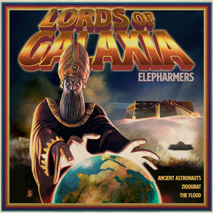Elepharmers - Lords Of Galaxia (LP) (PURPLE)