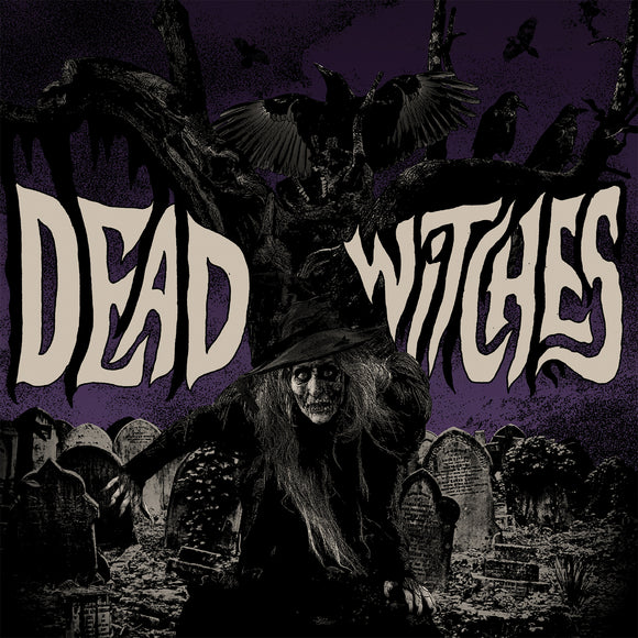 Dead Witches - Ouija (REISSUE) (TRANSPARENT ORANGE W/ BLACK/PURPLE/GREEN FLUO) (LP)