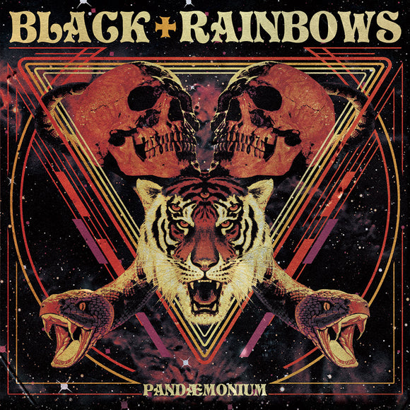 Black Rainbows - Pandaemonium (SPLATTER) (LP)