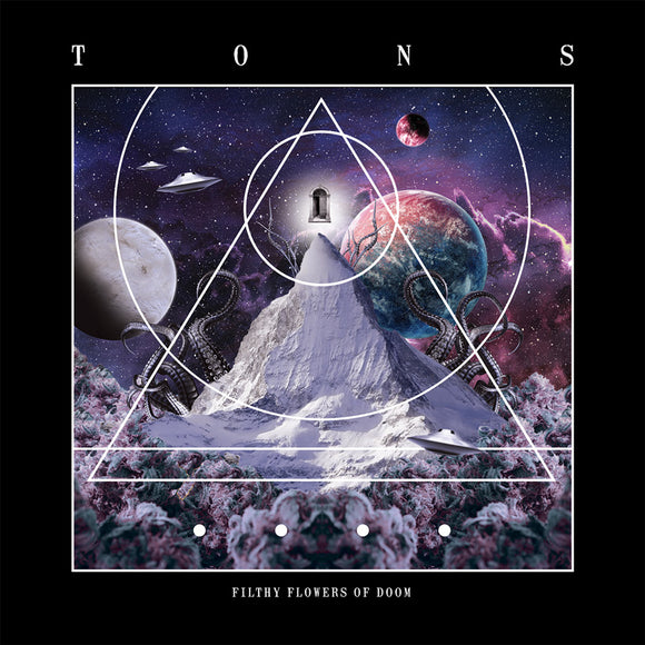 TONS - Filthy Flowers Of Doom (LP) (VIOLET)