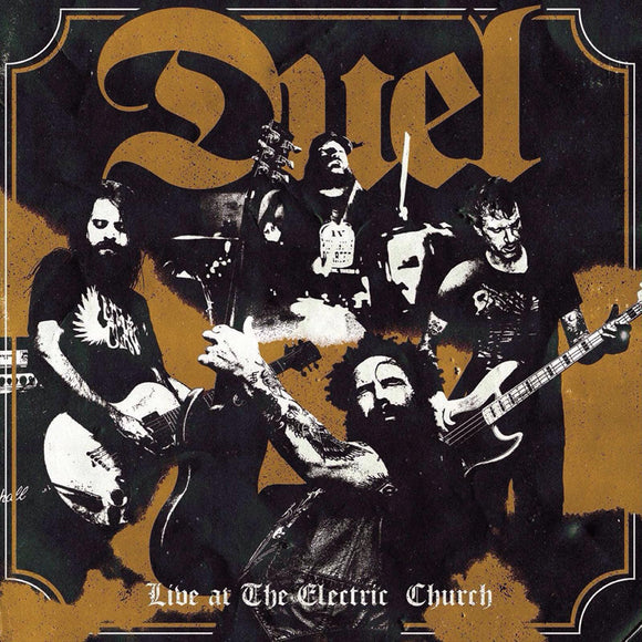 Duel - Live At The Electric Church (LP) (YELLOW)