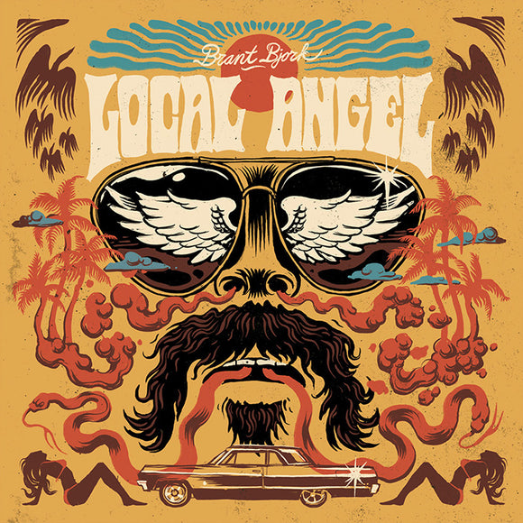 Brant Bjork - Local Angel Ultra Limited 3 Colour Striped (RED/BLUE/ORANGE) (LP)