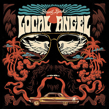 Brant Bjork - Local Angel (ALT COVER) (ORANGE/BLUE SUNBURST) (LP)