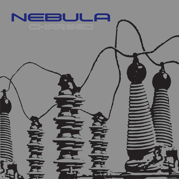 Nebula - Charged (REMASTERED) (WHITE W/ BLUE/GREEN/BLACK SPLATTER) (LP)