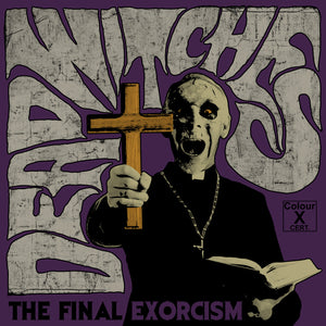 Dead Witches - The Final Exorcism (TRANSPARENT W/ RED/PURPLE SPLATTER) (LP)
