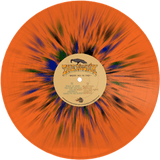 The Pilgrim - Walking Into The Forest (ORANGE W/ BLACK/BLUE/GREEN SPLATTER) (LP)