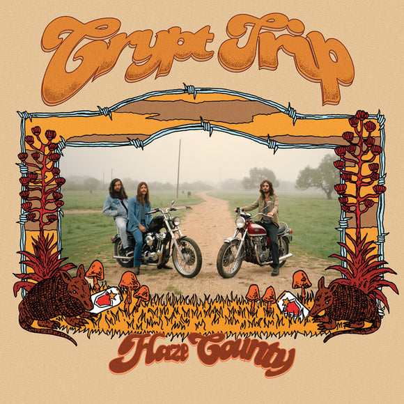 Crypt Trip - Haze County (YELLOW W/ ORANGE/RED/BROWN SPLATTER) (LP)