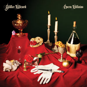 Glitter Wizard - Opera Villains Ultra Limited (YELLOW W/ RED/GREEN/BLUE SPLATTER) (LP)