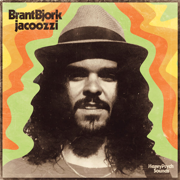 Brant Bjork - Jacoozzi (TRANSPARENT W/ ORANGE/RED/YELLOW SPLATTER) (LP)