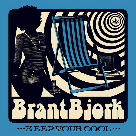 Brant Bjork - Keep Your Cool Ultra Limited (CLEAR BLUE) (LP)