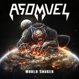 Asomvel - World Shaker Ultra Limited (TRANSPARENT W/ BLACK/RED/BROWN/YELLOW SPLATTER) (LP)
