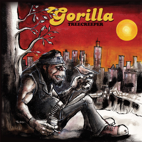 Gorilla - Treecreeper (YELLOW W/ RED/BLACK SPLATTER (LP)