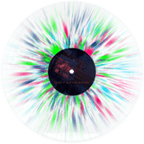 Planet Of Zeus - Faith In Physics Ultra Limited (LP) (CLEAR W/ BLUE/CLEAR BLUE/PINK FLUO/GREEN FLUO SPLATTER)