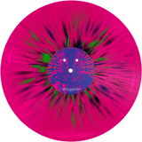 Giobia - Plasmatic Idol Ultra Limited (LP) (PINK FLUO W/ BLACK/BLUE/GREEN SPLATTER)