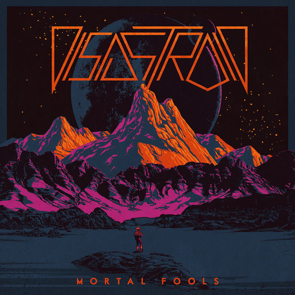 Disastroid - Mortal Fools Ultra Limited (LP) (HALF YELLOW/HALF ORANGE)