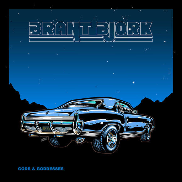 Brant Bjork - Gods And Goddesses Ultra Limited (LP) (A/B SIDE / YELLOW & BLUE)