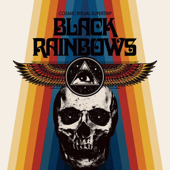 Black Rainbows - Cosmic Ritual Supertrip Limited (LP) (TRANSPARENT ORANGE W/ BLUE/RED SPLATTER)