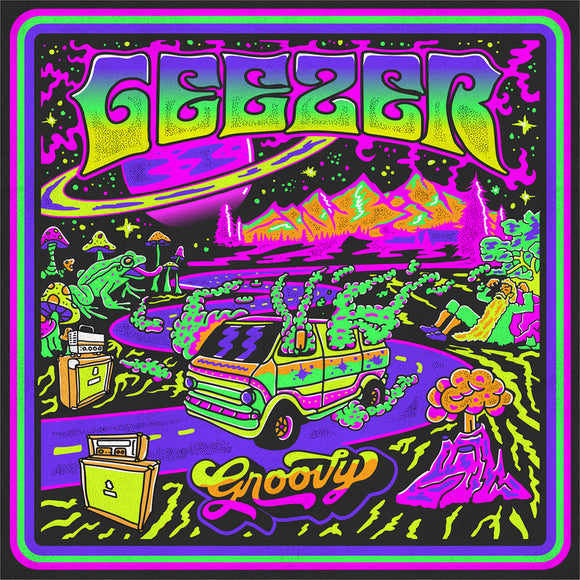 Geezer - Groovy Ultra Limited (LP) (A/B SIDE YELLOW/FUSCIA)