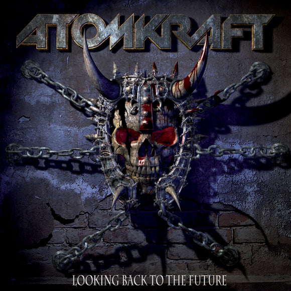 Atomkraft - Looking Back To The Future (LP) (2LP) (RED)