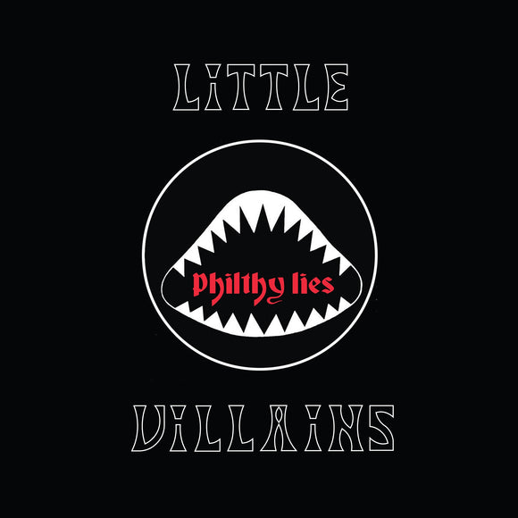 Little Villains - Philthy Animals (RED W/ BLACK/BLUE SPLATTER) (LP)