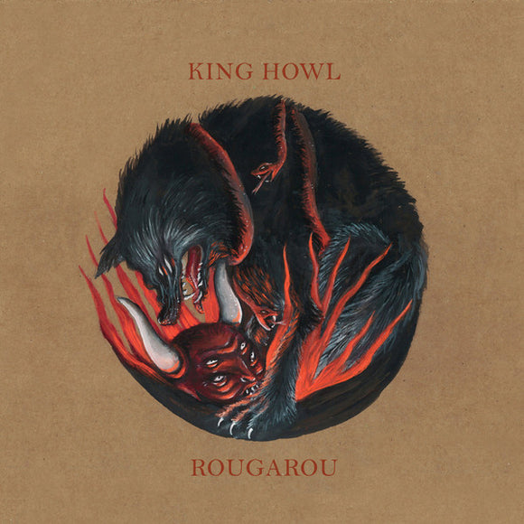 King Howl - Rougarou (RED) (LP)