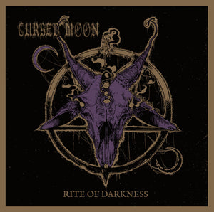 Cursed Moon - Rites Of Darkness (LP)