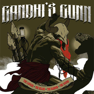 Gandhi's Gunn - The Longer The Beard The Harder The Sound (LP)
