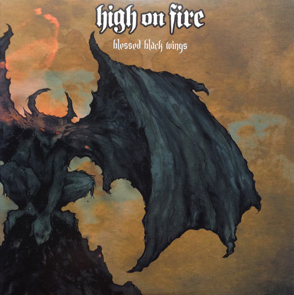 High On Fire - Blessed Black Wings (CLEAR YELLOW) (2LP)