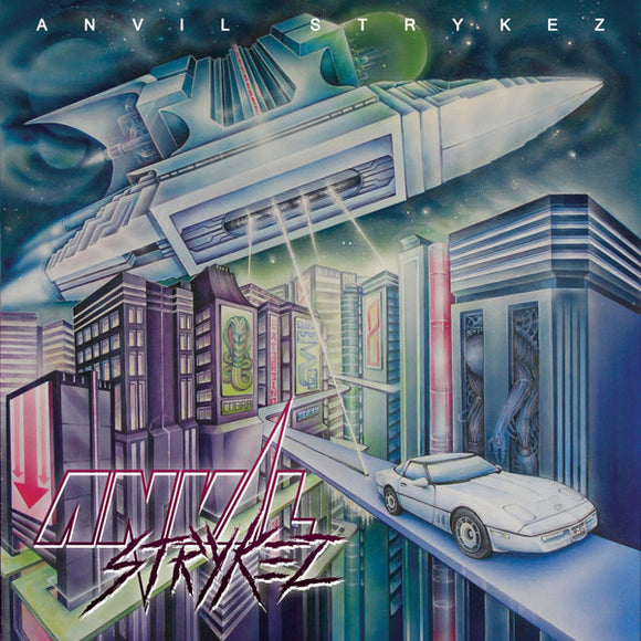 Anvil Strykez - Anvil Strykez (CD)