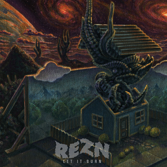 REZN - Let It Burn (CLEAR/BLACK SMOKE) (LP)