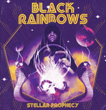 Black Rainbows - Stellar Prophecies Reissue (LP) (YELLOW W/ PURPLE/BLACK/RED SPLATTER)