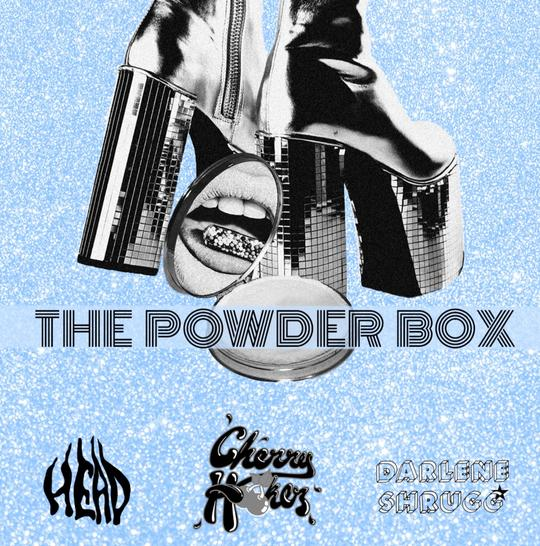 Fuzzed And Buzzed - The Powder Box (7 INCH) (3X) (BOXSET)