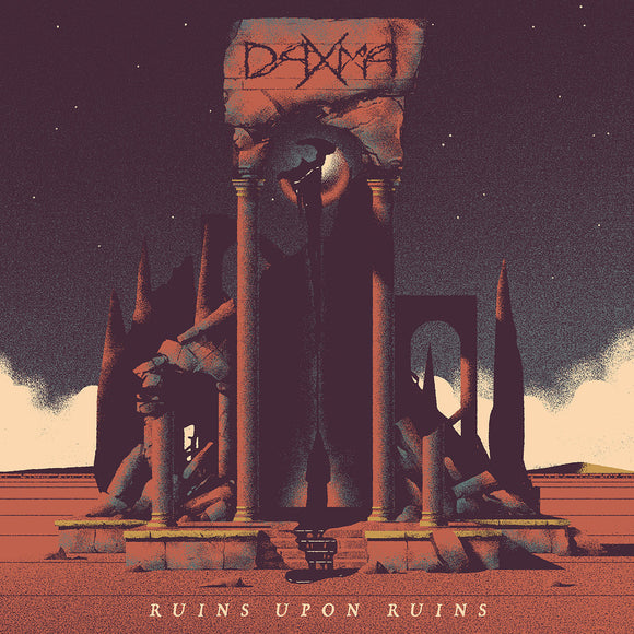 Daxma - Ruins Upon Ruins (LP) (BLUE)