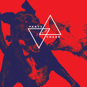"Deflore And Jaz Coleman - Party In The Chaos (LP) (12"") (RED/BLACK)"