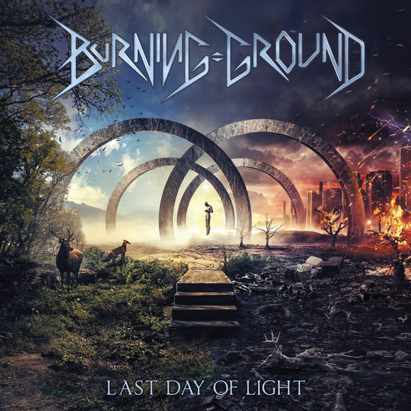 Burning Ground - Last Day Of Light (CD)