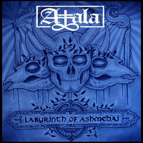Atala - Labyrinth Of Ashmedai (LP) (BLUE W/ BLACK SPLATTER)