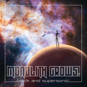 Monolith! Grows - Black And Supersonic (TRANSPARENT) (LP)